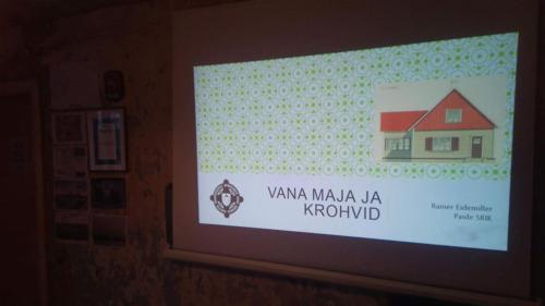 Vana maja teemaline esitlus